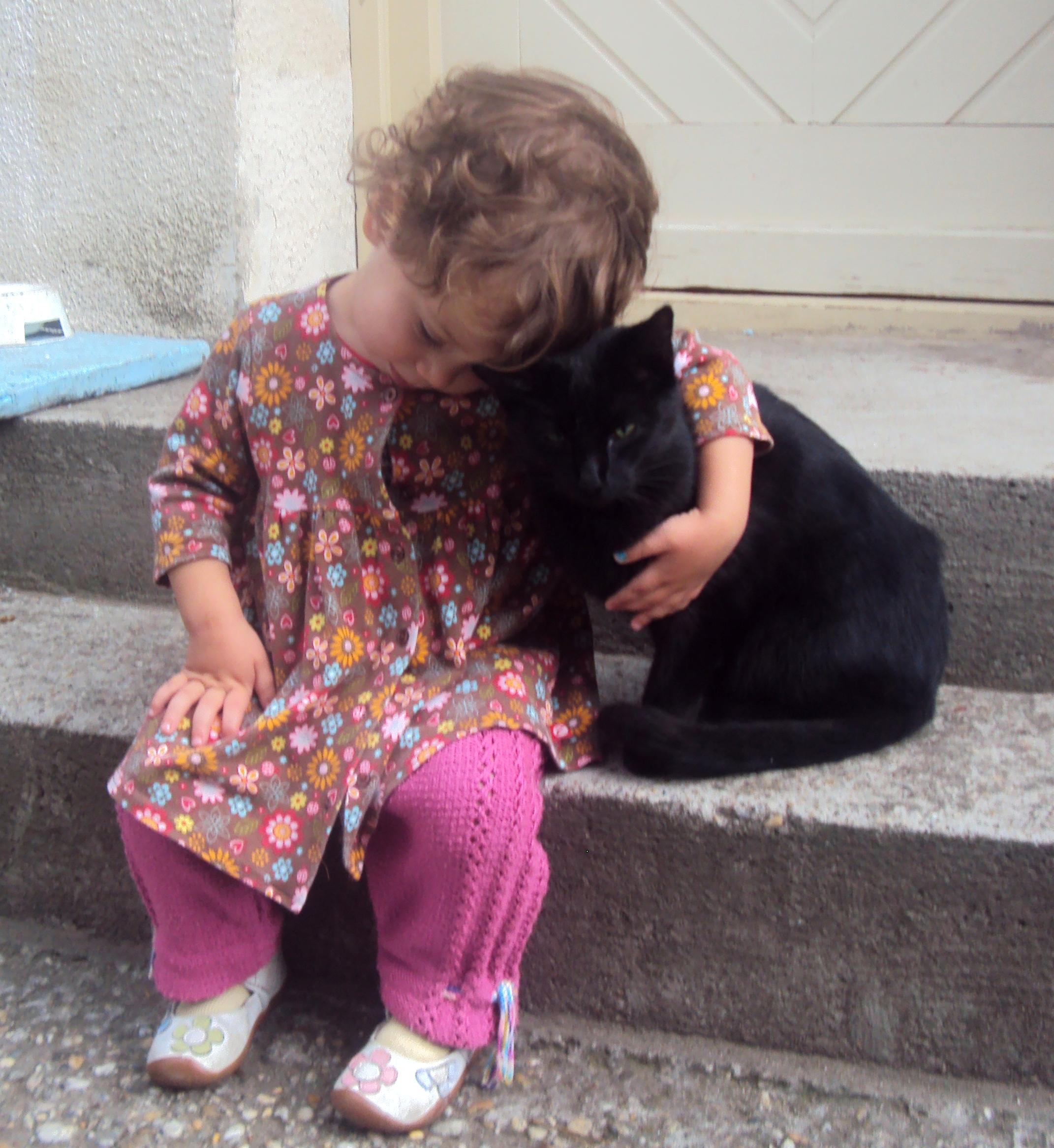 liza and cat